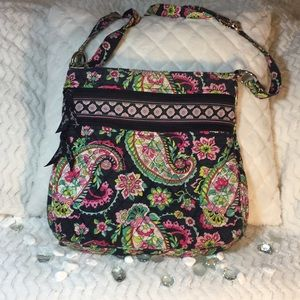EUC Vera Bradley Crossbody Bag in Petal Paisley